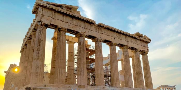 Akropolis weer open in Griekenland