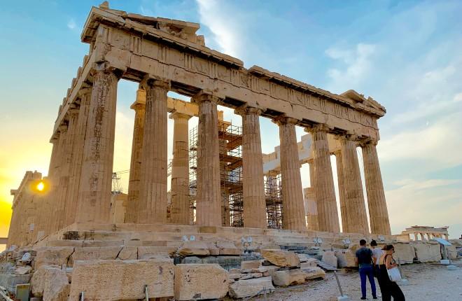Akropolis weer open in Athene