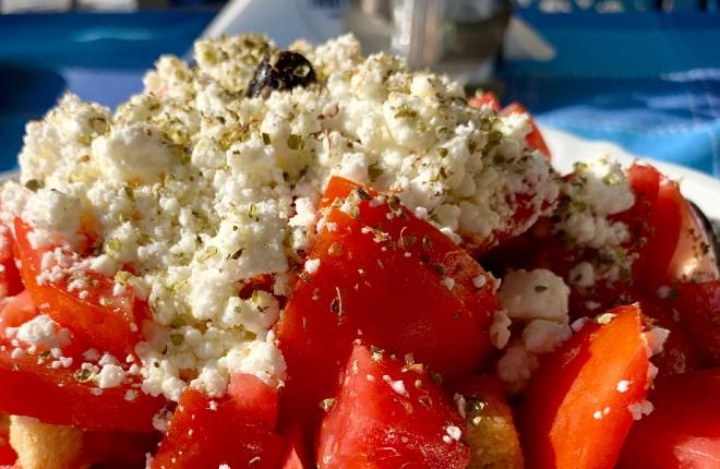 Dakos en Grieks recept uit Kreta