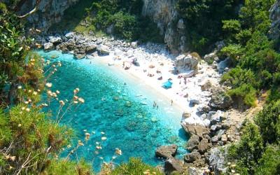 Fakistra op Pilion prachtige plek om te gaan zwemmen
