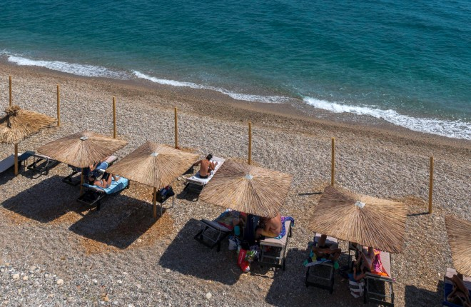 Kaladakia beach op Samos