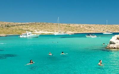 Lipsi prachtige plek om te gaan zwemmen in Griekenland
