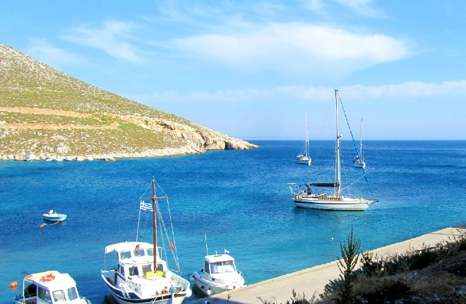 Vlichadia op Kalymnos