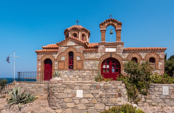 Sigri vakantie op Lesbos