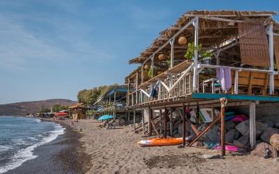 Skala Eresou Eressos het mooie strand