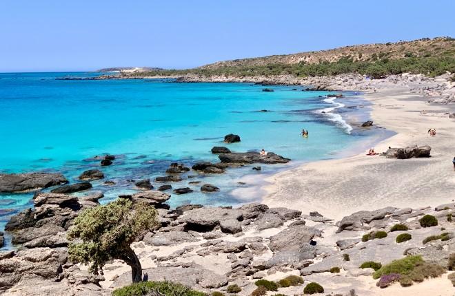 Kendrodasos beach op Kreta