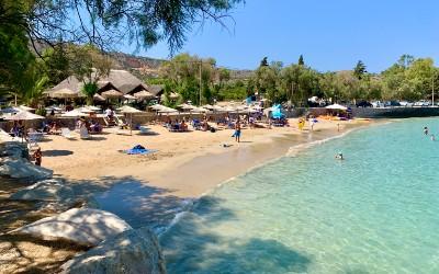 Marathi beach op Akrotiri Kreta