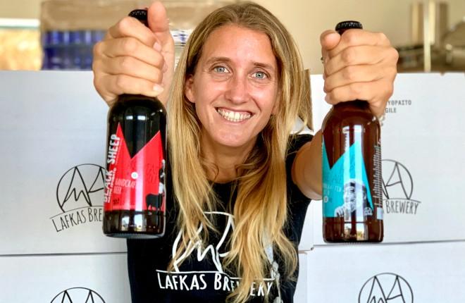 Lafkas: fris biertje uit Chania op Kreta