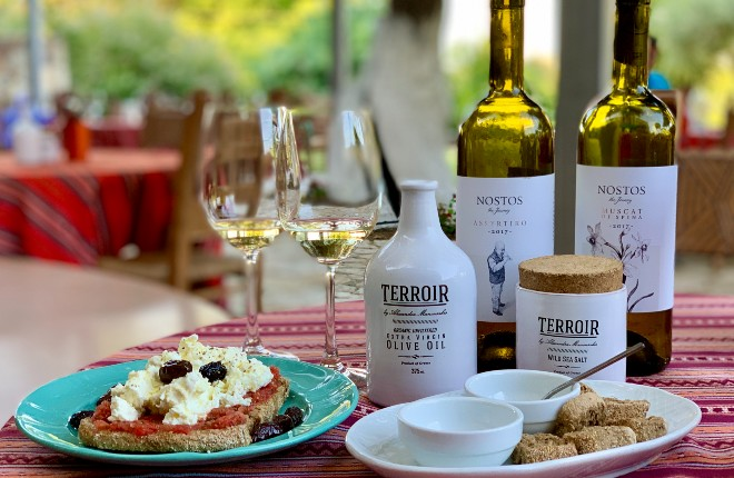 Manousakis wijnhuis op Kreta