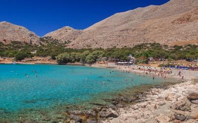 Pontamos beach Chalki