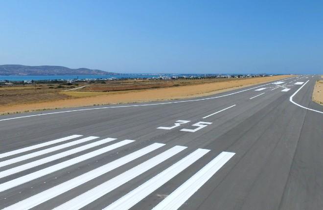 Luchthaven Paros in 2023 internationale vluchten