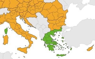 Griekenland code groen op aantal corona-patiënten