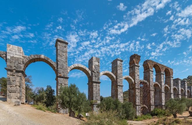 Romeins aquaduct Lesbos