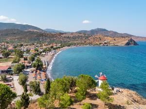 Lesbos stranden