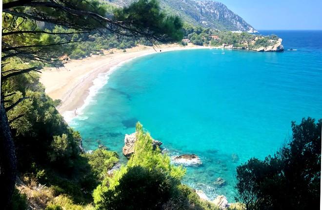 Megalo Seitani beach Samos