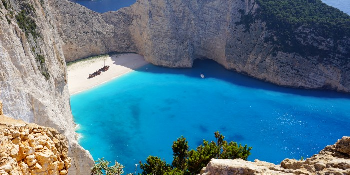 Shipwreck beach op Zakynthos krijgt toezicht
