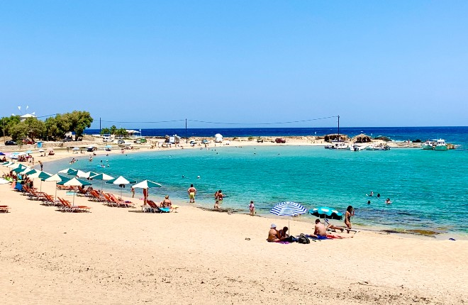 25 graden op Kreta dit weekend
