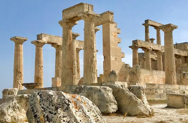 Agia Marina op Aegina