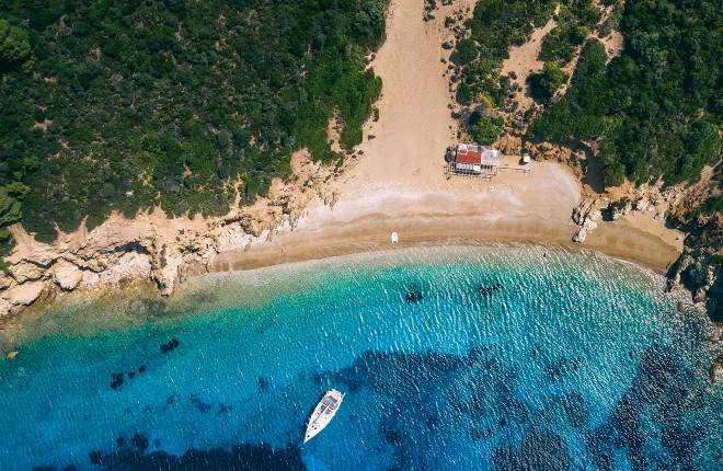 Arkos beach Skiathos