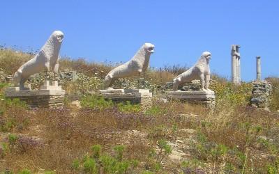 Griekse eilanden met minste aantal inwoners Delos