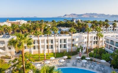Apollon hotel in Lambi op het Griekse eiland Kos