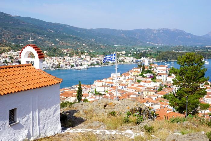 Argosaronische eilanden hoppen in Griekenland