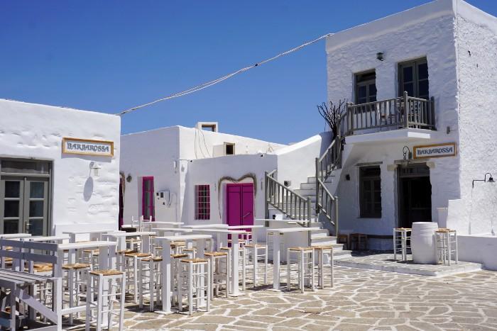 Centrale Cycladen het eiland Paros