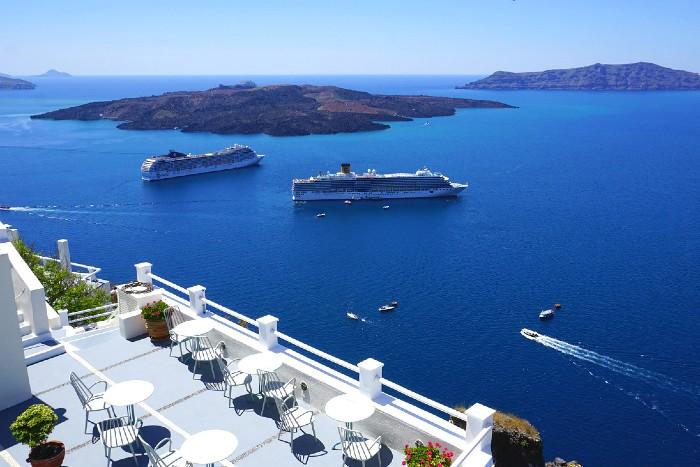 Hoppen op de Cycladen in Griekenland