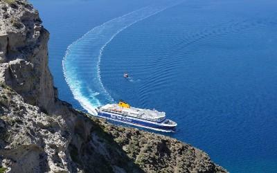 Veerdiensten voor eilandhoppen in Griekenland