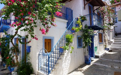 Zomer op de Griekse eilanden
