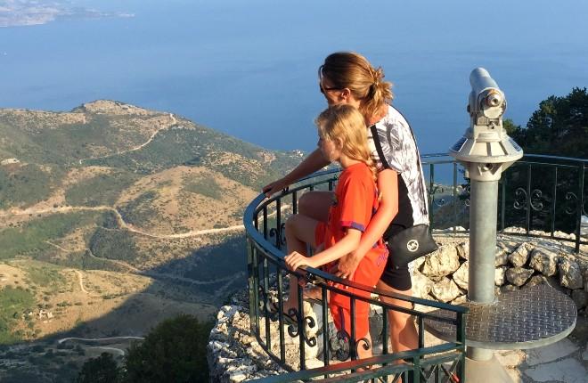 Pantorkrator op Corfu