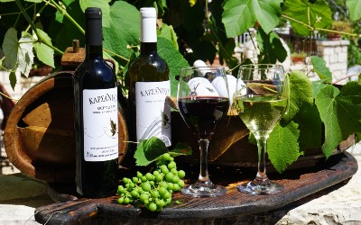 Wijn als souvenir uit Griekenland