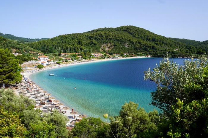 Sporaden eilandhoppen in Griekenland