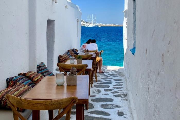 Eilandhoppen op de Cycladen in Griekenland