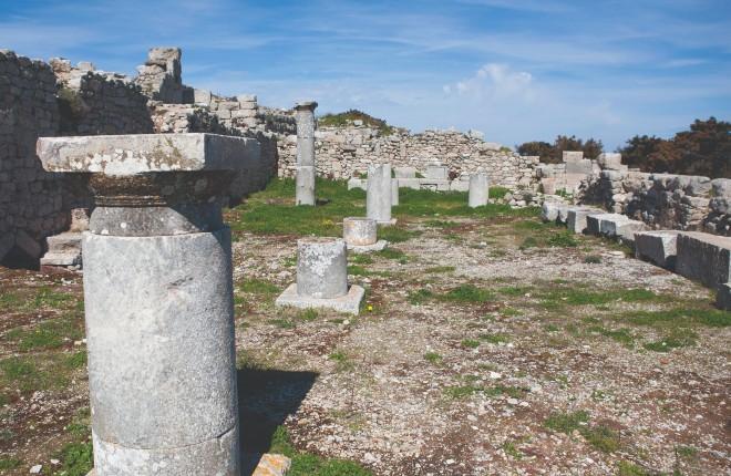 Oud Thira bezienswaardigheid Santorini