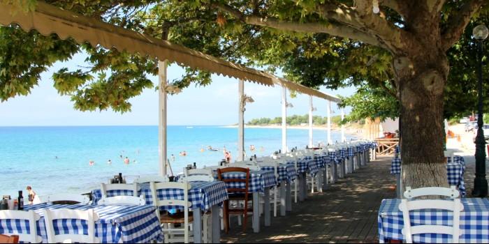 Terrassen restaurants, bars en cafés open in Griekenland
