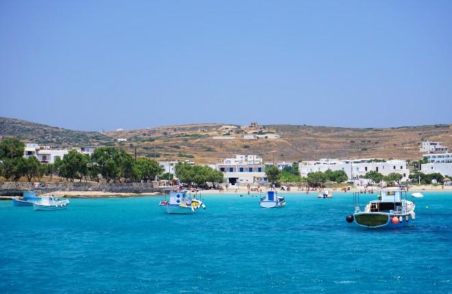 5 andere Cycladen eilanden van Griekenland