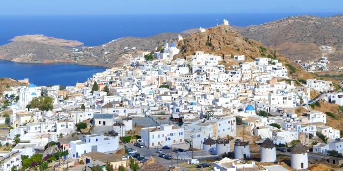 5 andere Cycladen eilanden