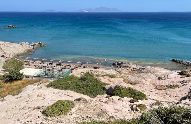 Camel beach op Kos