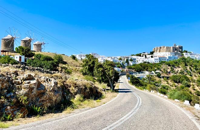 Chora Patmos vakantie