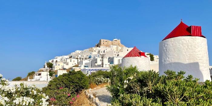 Griekenland kleurt geel. Reisadvies en testen.