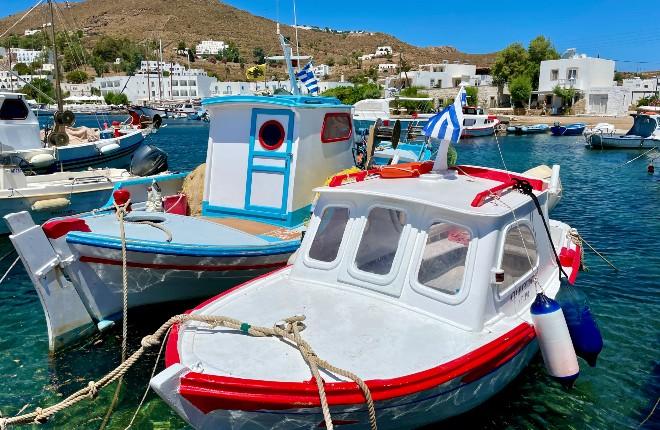 Grikos vakantie op Patmos