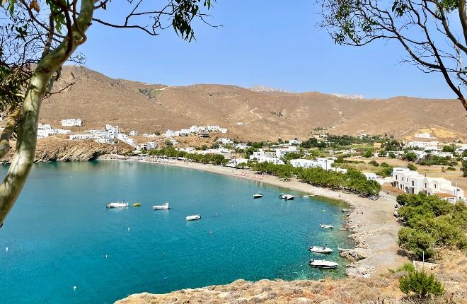 Livadi op Astypalea in Griekenland