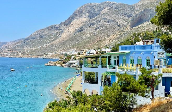 Masouri op Kalymnos voor vakantie