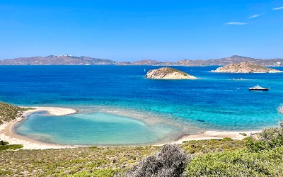 Panagia Geranou beach op Patmos
