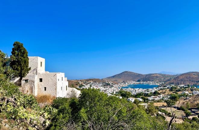 Patmos fotos van vakantie