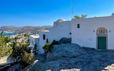 Patmos de grot van de Apocalypse