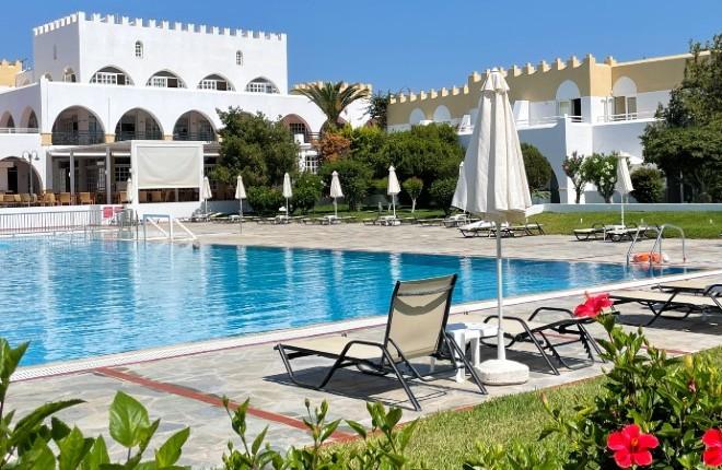 Platanista Hotel op Kos in Griekenland