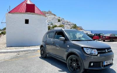 Auto huren op Astypalea tijdens vakantie