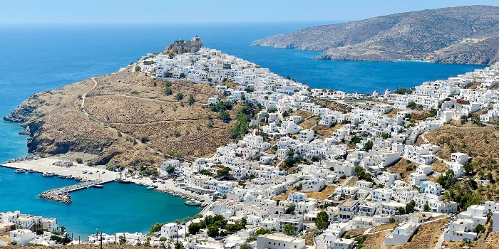 Op vakantie naar Astypalea Griekenland